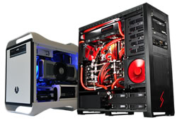 Custom designed and built PC's and Servers