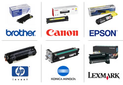 Consumables for most types of printers and office machines
